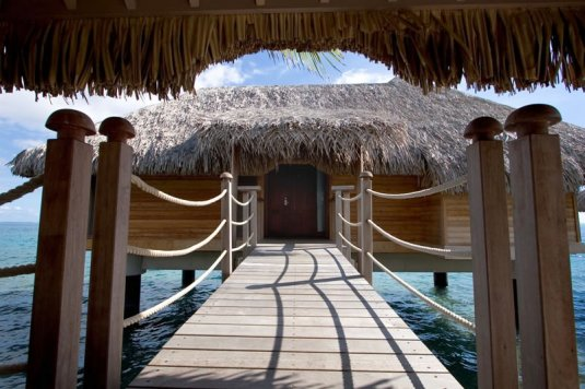 bora Bora intercontinental Thalasso spa