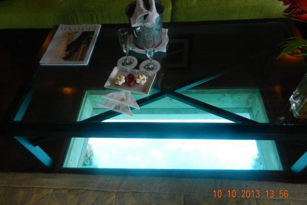 St Regis Bora Bora Glass Floor