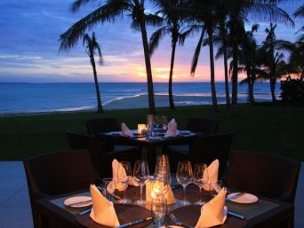 InterContinental Fiji at Sunset