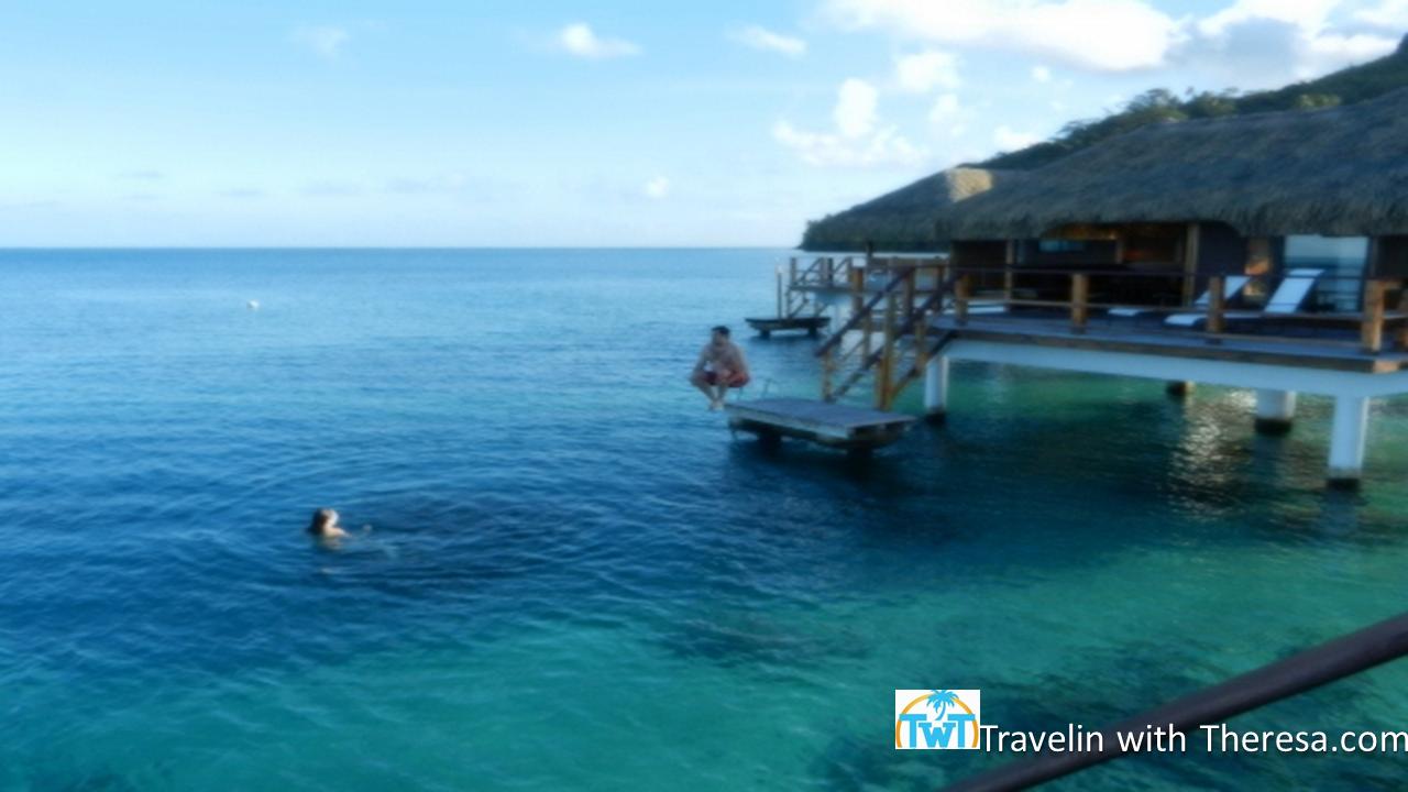 Royah Huahine Deep Overwater Villa