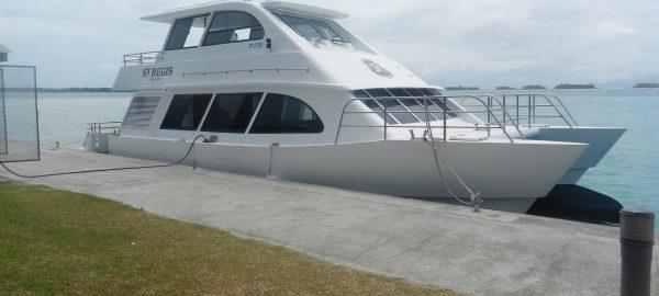 St Regis Bora Bora Boat Transfer