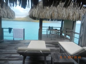 St Regis Bora Bora Balcony Deluxe Otemenu View