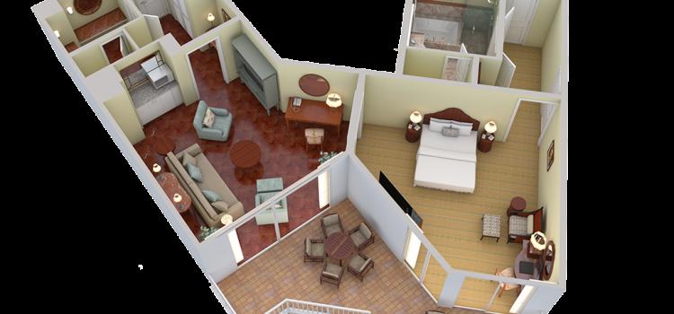 Ali Suite 3d View