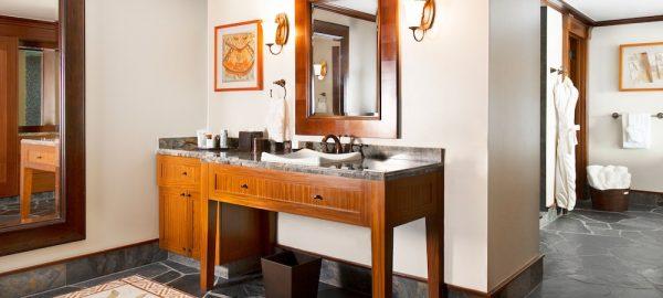 aulani signature 2 bdrm suite bathroom