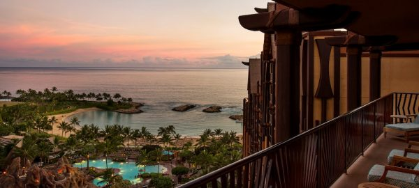 aulani signature 2 bdrm suite sunset