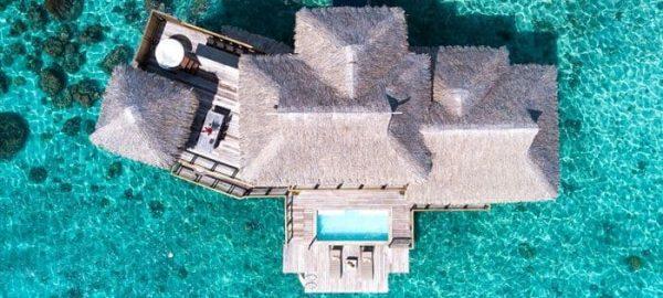 Conrad Bora Plunge Pool View