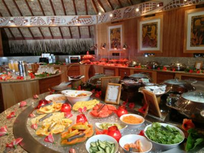 InterContinental Bora Bora Resort Le Moana Buffet Breakfast