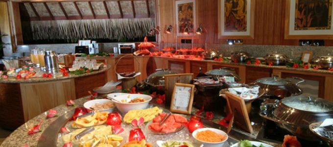 InterContinental Bora Bora Resort Le Moana Buffet Breakfast