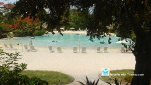 Tahiti Sofitel Sand Pool