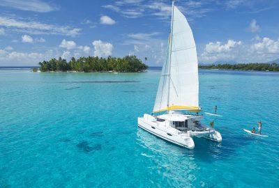 tahiti yacht paddle board