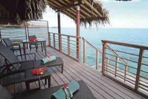 bora Bora intercontinental Thalasso spa balcony