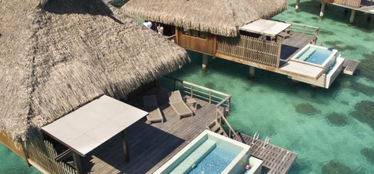 conrad bora bora pool overwater