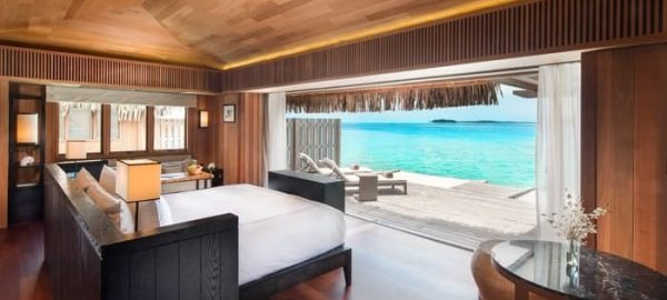 Conrad Bora Bora Kiing Overwater Villa