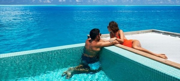 conrad bora romantic pool
