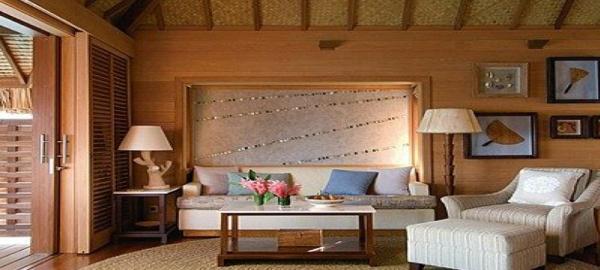 four seaons bora bora living room