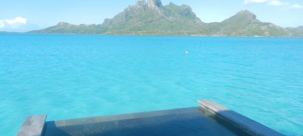 Four Seasons Bora Bora plunge pool