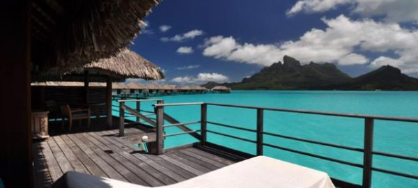 Four Seasons Bora Bora Lagoon Balcony