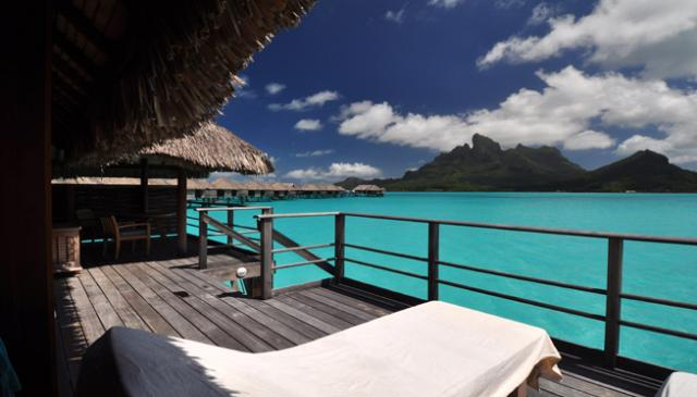 Four Seasons Bora Bora Lagoon Balcony