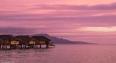 tahaa sunset overwater