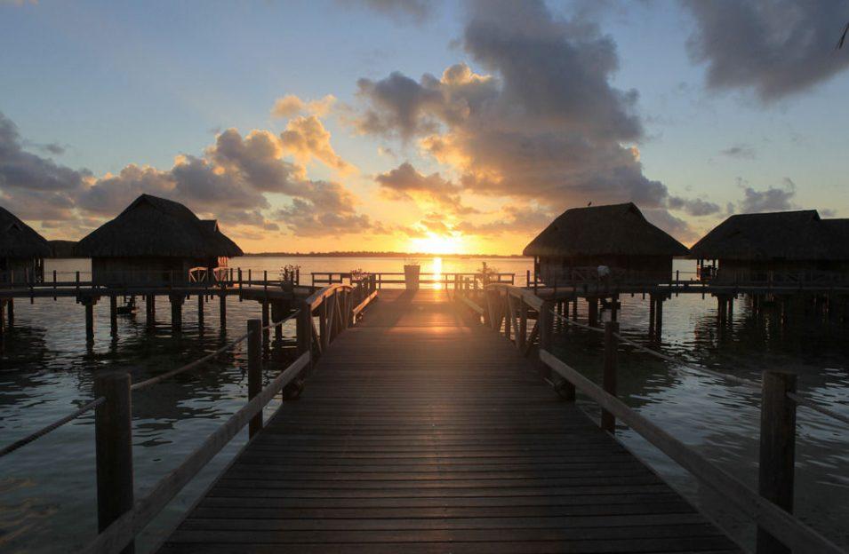 Sofitel Bora Bora Sunset