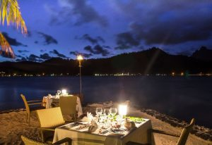 Sofitel Bora Bora Romantic Dinner