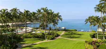 fairmont orchid deluxe oceanview room