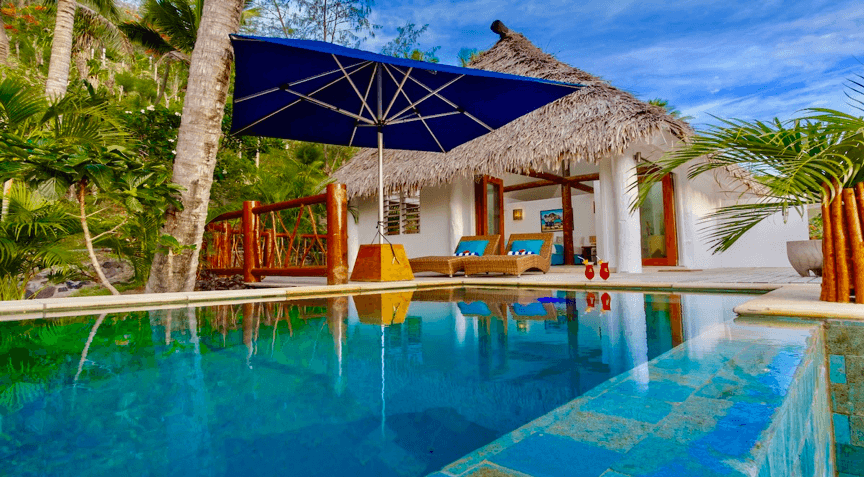 tropica island honeymoon pool