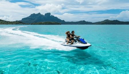 Jet Ski In Bora Bora