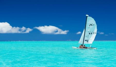 conrad bora sailing