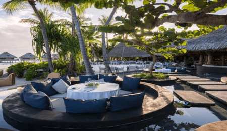 conrad pool dining