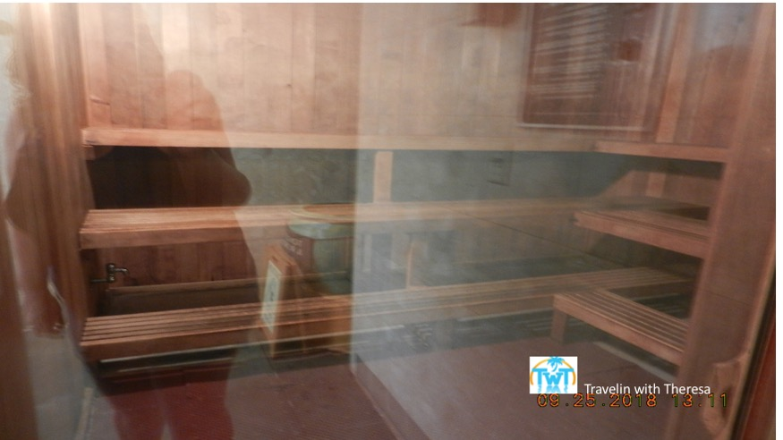HIlton waikoloa Sauna