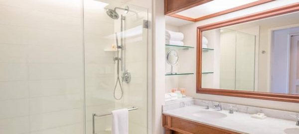hyatt kauai shower