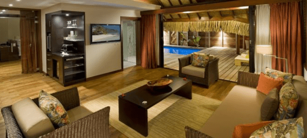 HIlton Moorea garden suite