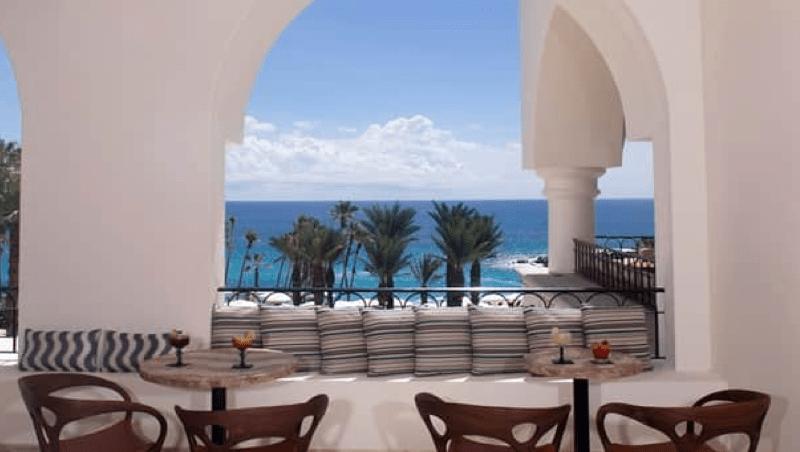 Hilton Cabo Vista Lounge Balcony
