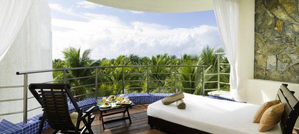 El Dorado Maroma HOneymoon Balcony