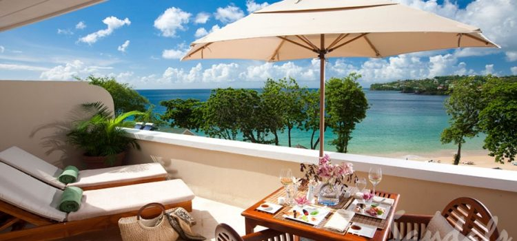 Pitons Oceanview with Private Sundeck - LX