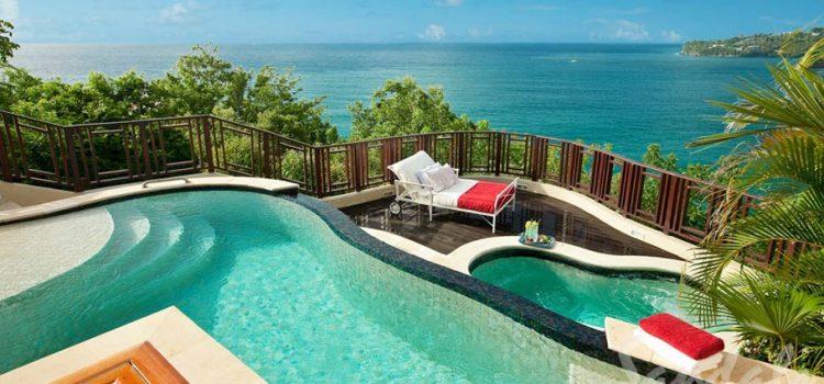Dual Private Pool Millionaire's Suite
