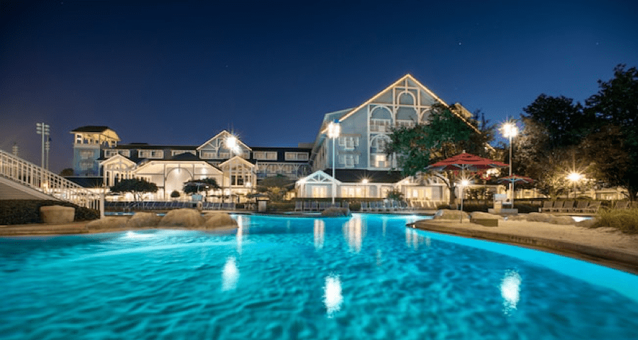 disney beach club pool