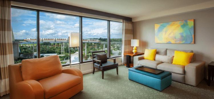 Disney Bay 2 Bedroom Theme View