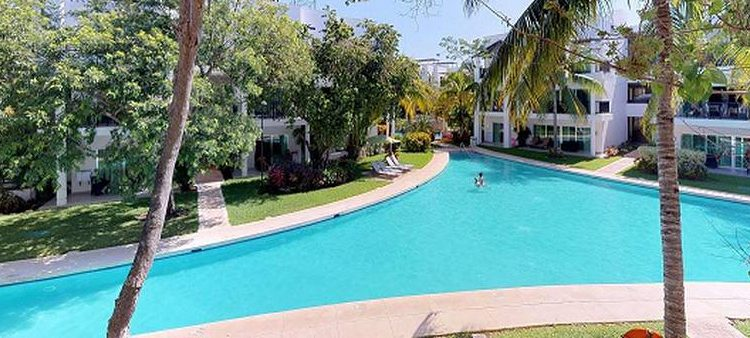 the fives pool resort view