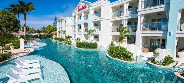 Sandals Montego Crystal Lagoon Hnymn Ovw Balcony - OLX