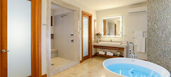 Sandals Montego Beachfront Romeo & Juliet One-Bedroom Butler Villa Luxury Bathroom - RJ