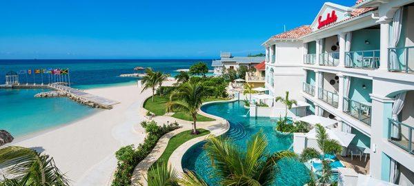 Sandals Montego Beachfront Swim-up Super Luxe One-Bedroom Butler Suite- SB1B