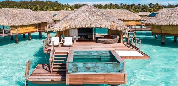 Le Bora Bora Pool Overwater Villa