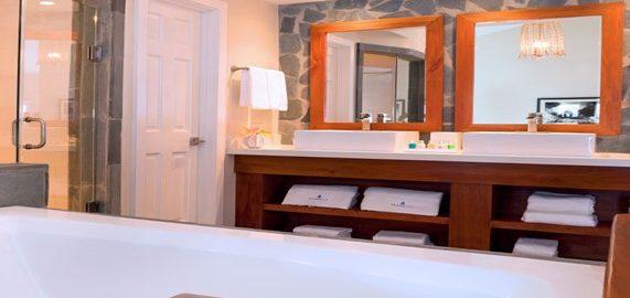 serenity st lucia grand bathroom