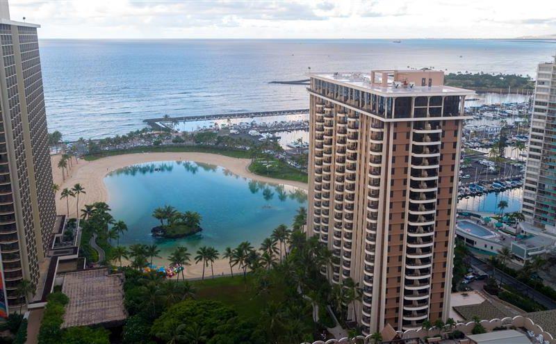 hilton grand vacations hawaiian village