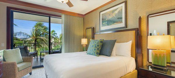koloa landing Two-Bedroom-island view Master-Bedroom