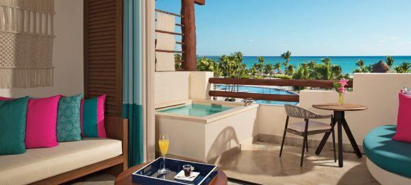 secrets maroma partial ocean balcony