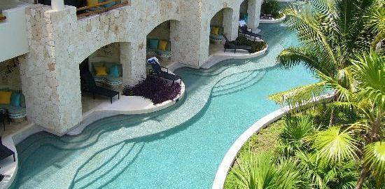 secrets maroma swimout pool