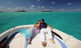Private Love Boat Sunset Cruise For Two, Bora Bora